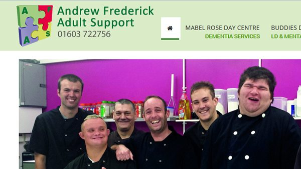 Andrew Frederick Adult Support