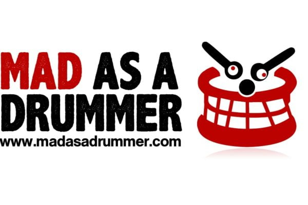 Mad as a Drummer Logo from Logic Red Web Design In Norfolk