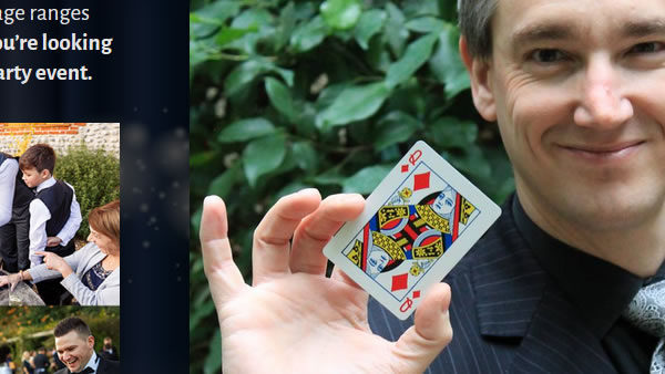 Martin Hinchliffe - Anglia Magician in Norwich, Norfolk