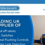 Watersavers website design by Logic Red