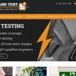 Track and test website design